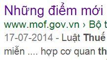 17 điểm mới của TT 78/2014 về việc quyết toán thuế TNDN 2014 so với TT 123