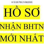 Hồ sơ nhận BHTN mới nhất 2020